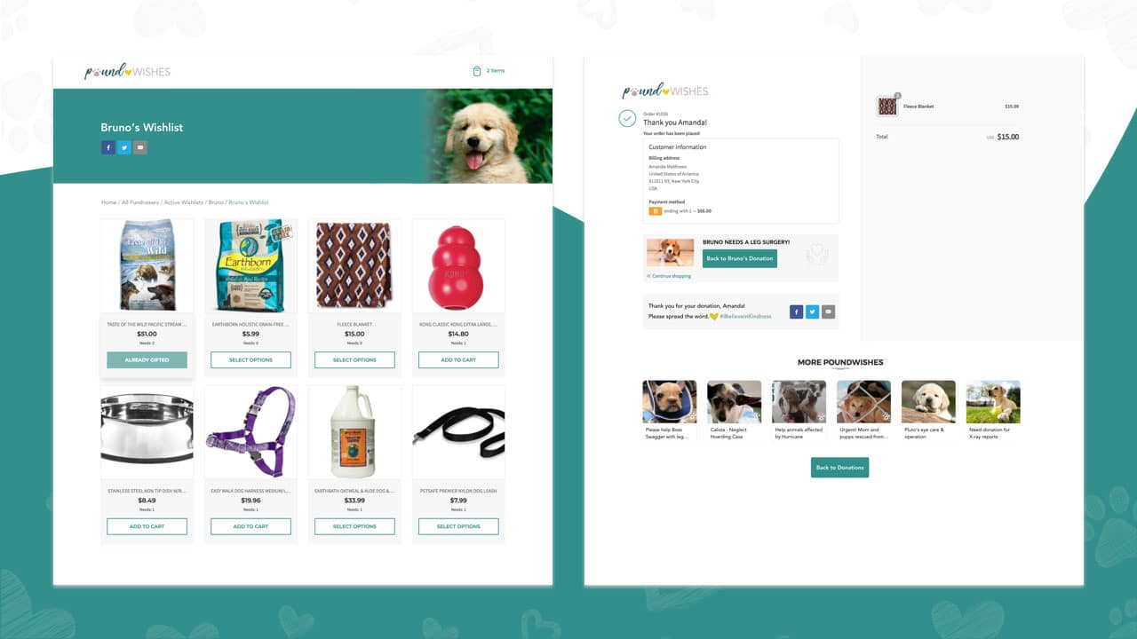 Animal gift registries - an innovation is gift giving