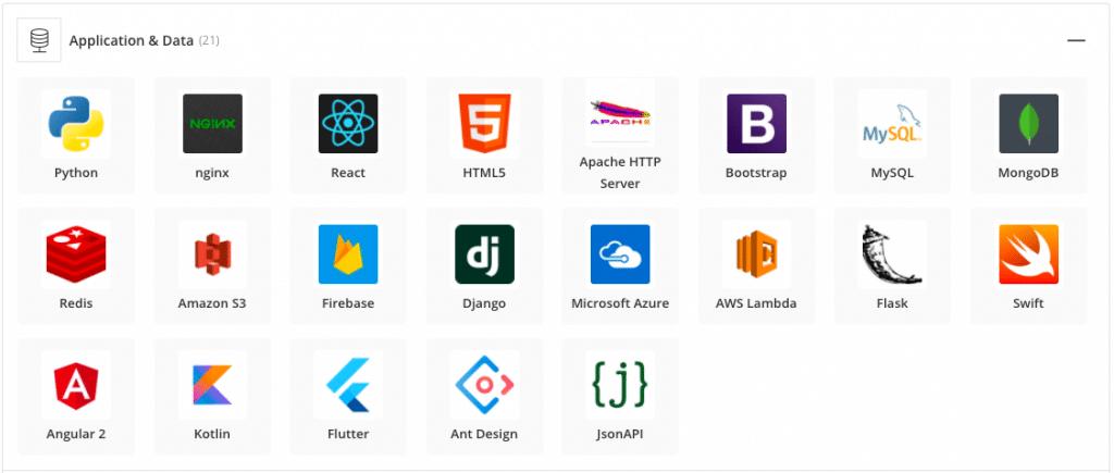 Ignitesol's preferred application and data tech stack