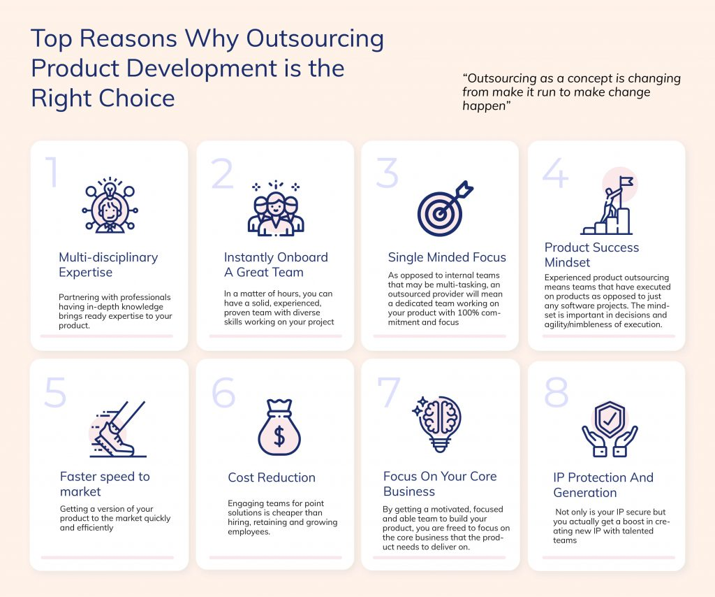 why outsourcing product development